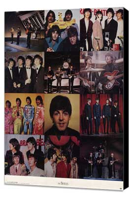 The Beatles Anthology - 11 x 17 Movie Poster - Style B - Museum Wrapped Canvas