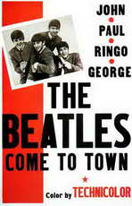 The Beatles Come To Town - 11 x 17 Movie Poster - Style A