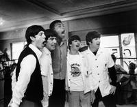 The Beatles - 8 x 10 B&W Photo #1