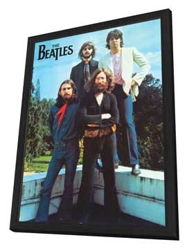 The Beatles - 11 x 17 Music Poster - Style A - in Deluxe Wood Frame