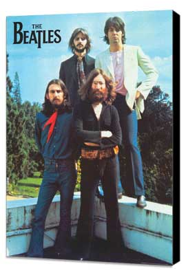 The Beatles - 11 x 17 Music Poster - Style A - Museum Wrapped Canvas