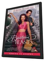 The Beautician and the Beast - 11 x 17 Movie Poster - Style A - in Deluxe Wood Frame