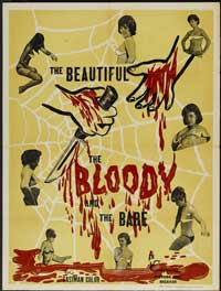 The Beautiful, the Bloody, and the Bare - 43 x 62 Movie Poster - Bus Shelter Style A