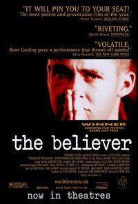 The Believer - 27 x 40 Movie Poster - Style A