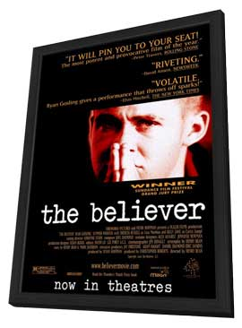 The Believer - 11 x 17 Movie Poster - Style A - in Deluxe Wood Frame
