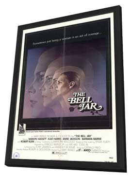 The Bell Jar - 11 x 17 Movie Poster - Style A - in Deluxe Wood Frame