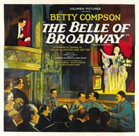 The Belle of Broadway - 22 x 28 Movie Poster - Half Sheet Style A