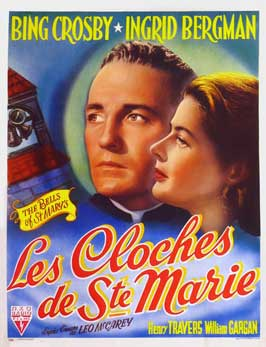 The Bells of St. Mary's - 11 x 17 Movie Poster - Belgian Style A