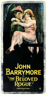 The Beloved Rogue - 20 x 40 Movie Poster - Style A