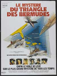 The Bermuda Triangle - 27 x 40 Movie Poster - French Style A