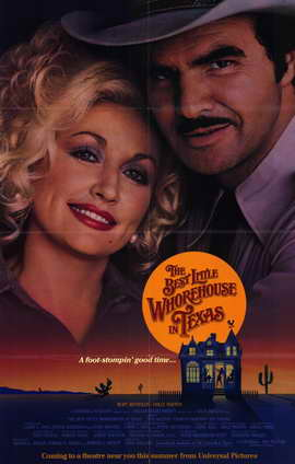 The Best Little Whorehouse in Texas - 11 x 17 Movie Poster - Style A