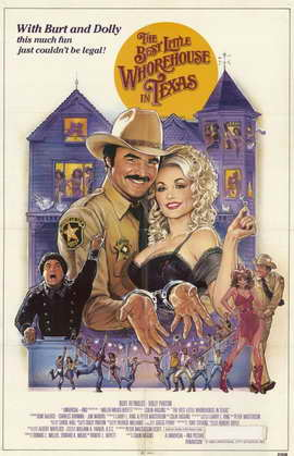 The Best Little Whorehouse in Texas - 11 x 17 Movie Poster - Style B