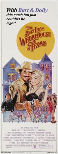 The Best Little Whorehouse in Texas - 14 x 36 Movie Poster - Insert Style A