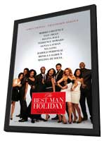 The Best Man Holiday - 11 x 17 Movie Poster - Style A - in Deluxe Wood Frame