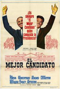 The Best Man - 11 x 17 Movie Poster - Spanish Style A