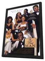 The Best Man - 11 x 17 Movie Poster - Style B - in Deluxe Wood Frame