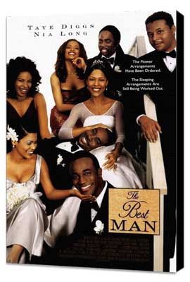 The Best Man - 27 x 40 Movie Poster - Style B - Museum Wrapped Canvas