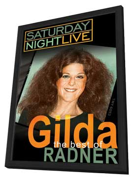 The Best of Gilda Radner - 11 x 17 Movie Poster - Style A - in Deluxe Wood Frame