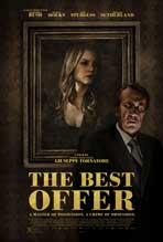 """The Best Offer"" Movie Poster"