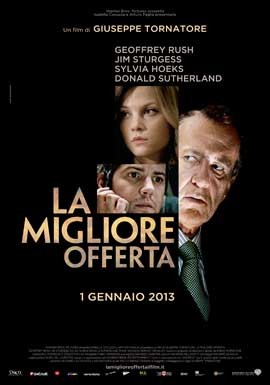 The Best Offer - 11 x 17 Movie Poster - Italian Style A