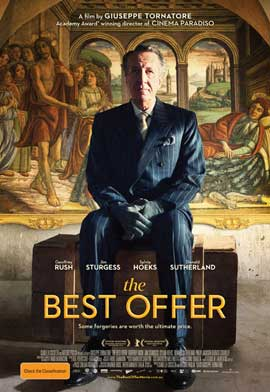 The Best Offer - 11 x 17 Movie Poster - Australian Style A