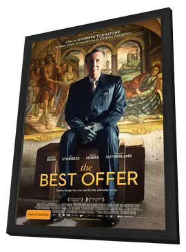 The Best Offer - 27 x 40 Movie Poster - Australian Style A - in Deluxe Wood Frame
