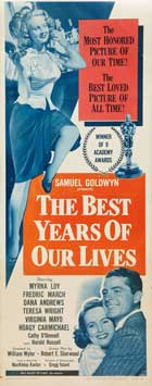 The Best Years of Our Lives - 14 x 36 Movie Poster - Insert Style B