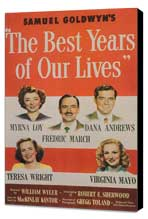 The Best Years of Our Lives - 11 x 17 Movie Poster - Style B - Museum Wrapped Canvas