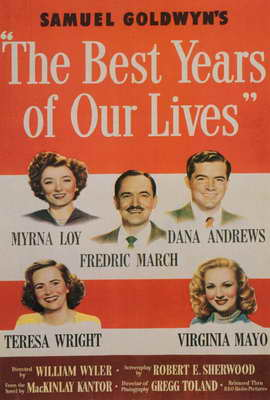 The Best Years of Our Lives - 27 x 40 Movie Poster - Style B