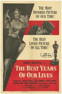 The Best Years of Our Lives - 43 x 62 Movie Poster - Bus Shelter Style A