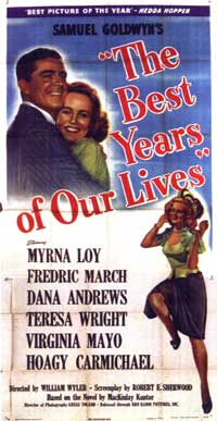 The Best Years of Our Lives - 20 x 40 Movie Poster - Style A