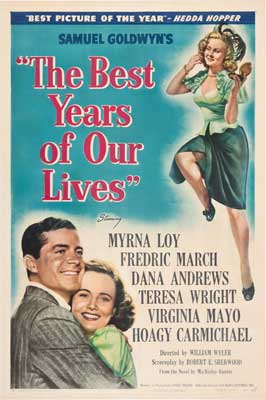 The Best Years of Our Lives - 27 x 40 Movie Poster - Style F