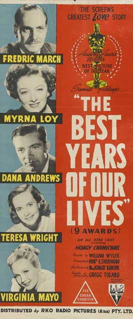 The Best Years of Our Lives - 13 x 30 Movie Poster - Australian Style A