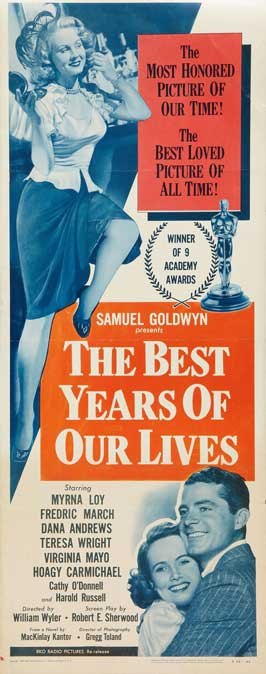 The Best Years of Our Lives - 11 x 14 Movie Poster - Style B