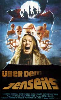The Beyond - 11 x 17 Movie Poster - German Style A