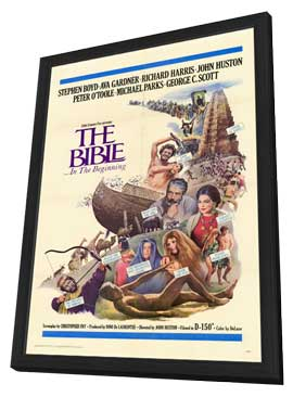 The Bible - 11 x 17 Movie Poster - Style A - in Deluxe Wood Frame