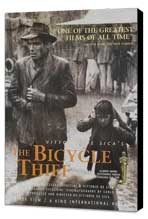 The Bicycle Thief - 27 x 40 Movie Poster - Style B - Museum Wrapped Canvas