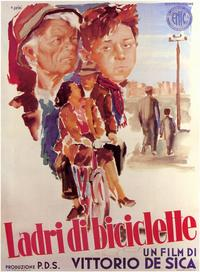 The Bicycle Thief - 11 x 17 Movie Poster - Italian Style A