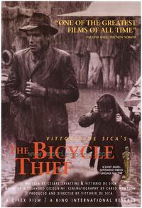 The Bicycle Thief - 43 x 62 Movie Poster - Bus Shelter Style A