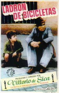 The Bicycle Thief - 11 x 17 Movie Poster - Spanish Style A