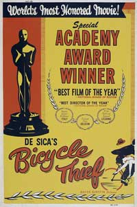 The Bicycle Thief - 11 x 17 Movie Poster - Style A