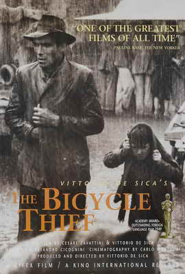 The Bicycle Thief - 27 x 40 Movie Poster - Style B