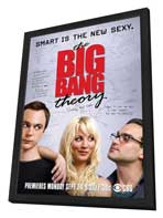 The Big Bang Theory (TV) - 11 x 17 TV Poster - Style B - in Deluxe Wood Frame