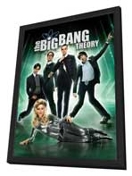 The Big Bang Theory (TV) - 27 x 40 TV Poster - Style A - in Deluxe Wood Frame