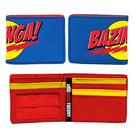 The Big Bang Theory (TV) - Blue Bazinga! Logo Wallet