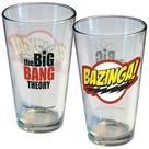 The Big Bang Theory (TV) - Bazinga! Logo Pint Glass