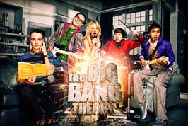 The Big Bang Theory (TV) - 11 x 17 TV Poster - Style F