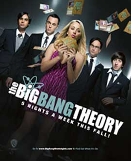 The Big Bang Theory (TV) - 11 x 14 TV Poster - Style A