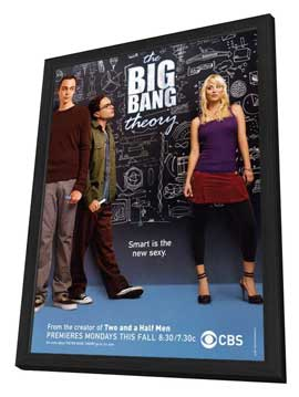 The Big Bang Theory (TV) - 11 x 17 TV Poster - Style A - in Deluxe Wood Frame