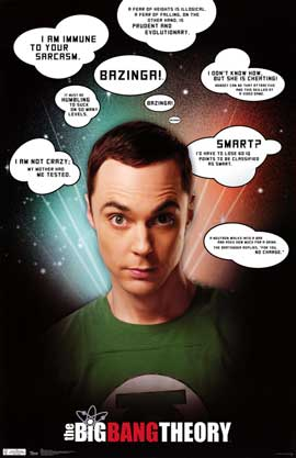 The Big Bang Theory (TV) - TV Poster - 22 x 34 - Style A